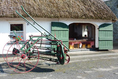 Casa de campo tradicional irlandesa Imagem de Stock