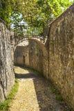 Casa de campo um Sesta (Chianti, Toscânia) fotografia de stock