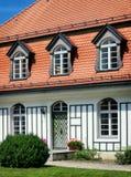 Casa de campo velha imagem de stock