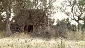 Casa de campo velha video estoque