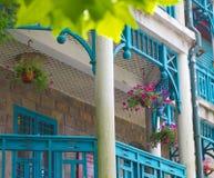Casa de campo velha na montanha Lu Imagens de Stock Royalty Free