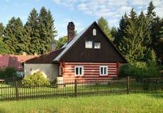 Casa de campo vermelha Imagem de Stock Royalty Free