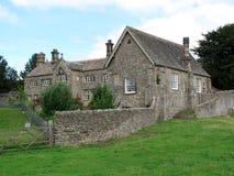 Casa de campo vieja del inglés Foto de archivo