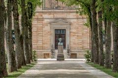 Casa de campo Wahnfried Bayreuth - Richard Wagner Museum Fotografia de Stock
