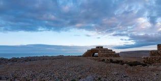 Casa de Canon em Faro Nati imagem de stock royalty free
