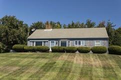 Casa de Cape Cod fotografia de stock