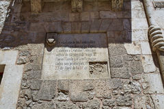 Casa de Casa de los Condestables em Burgos Imagem de Stock