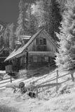 Casa de cazadores Fotografía de archivo