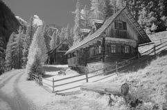 Casa de cazadores Foto de archivo libre de regalías