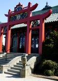 Casa de chá chinesa fotografia de stock royalty free