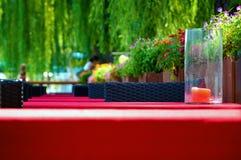 Casa de chá do lazer Foto de Stock