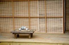 Casa de chá japonesa imagens de stock