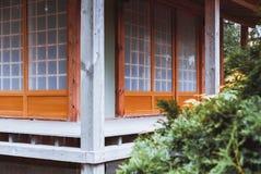 Casa de chá japonesa tradicional Fotografia de Stock Royalty Free