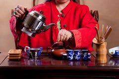 Casa de chá tradicional Imagem de Stock Royalty Free