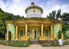 Casa de China de Potsdam, Alemanha fotos de stock