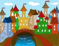 Casa de cidade Imagem de Stock Royalty Free