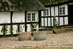Casa de cidade dinamarquesa velha Fotografia de Stock Royalty Free