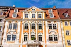 Casa de cidade velha em Gorlitz fotografia de stock royalty free
