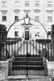 Casa de ciudad de Londres imagen de archivo