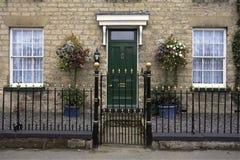 Casa de ciudad georgiana - Inglaterra fotos de archivo libres de regalías