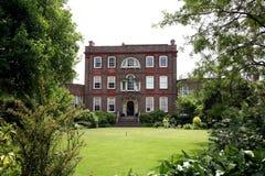 Casa de ciudad georgiana inglesa Imagen de archivo