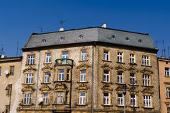 Casa de ciudad, Kraków Foto de archivo libre de regalías