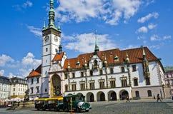 Casa de ciudad Olomouc, repuplic checo Fotografía de archivo libre de regalías
