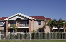 Casa de ciudad suburbana Imagen de archivo libre de regalías