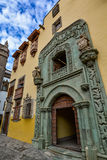 Casa de Colon (The house of Christopher Columbus), Las Palmas, Gran Canaria royalty free stock images