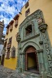 Casa de Colon (la maison de Christopher Columbus), Las Palmas, mamie Canaria Images libres de droits