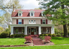 imagen casa pintada estuco: