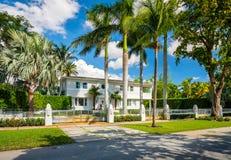 Casa de Coral Gables Imagem de Stock Royalty Free