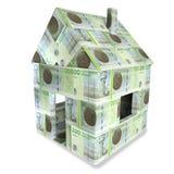 Casa de 200 coroas dinamarquesas Imagem de Stock
