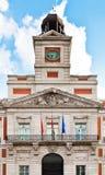 Casa de Correos in Puerta del Sol, Madrid Stock Images