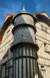 Casa de cortiço histórica na cidade velha Imagens de Stock Royalty Free