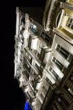 Casa de cortiço iluminada fotografia de stock royalty free