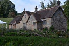 Casa de Cragside e jardins Northumberland imagens de stock
