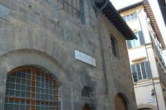 Casa de Dante Foto de archivo