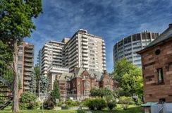 Casa de Davis de la escena de la universidad de McGill Fotos de archivo