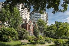 Casa de Davis de la escena de la universidad de McGill Foto de archivo