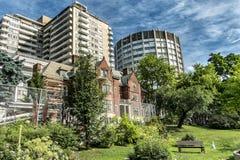 Casa de Davis de la escena de la universidad de McGill Fotografía de archivo