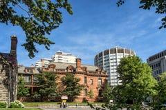 Casa de Davis de la escena de la universidad de McGill Imagen de archivo libre de regalías