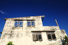 Casa de decaimiento del abandono Fotografía de archivo libre de regalías