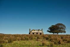 Casa de Derilect, Keiss, Escócia do norte imagem de stock