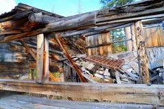 Casa de deterioração velha Fotografia de Stock Royalty Free