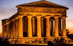 Casa de dioses Fotografía de archivo libre de regalías