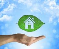 Casa de Eco Fotografia de Stock Royalty Free