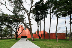 casa de Eduardo souto rego της Paula moura Στοκ Φωτογραφίες