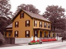 Casa de embarque de Edison foto de stock