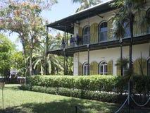 Casa de Ernest Hemingway, Key West imagen de archivo libre de regalías